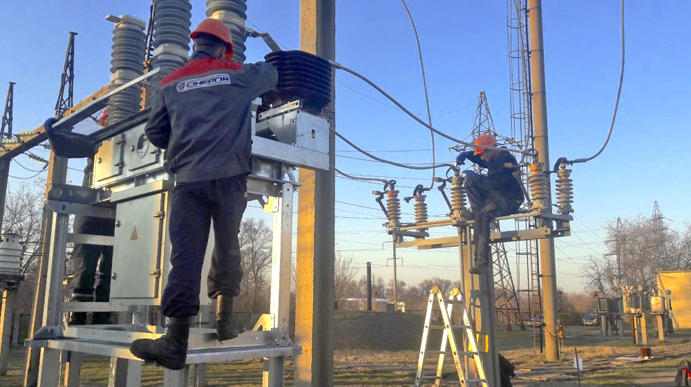 We carry out the construction and reconstruction of electrical substations and switchgears