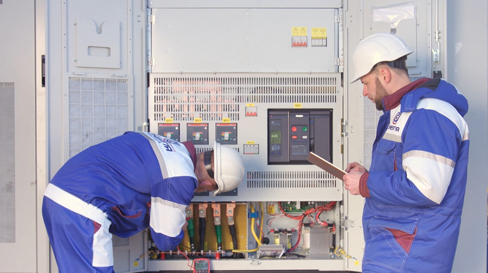 Maintenance of electric power facilities for enterprises and individuals
